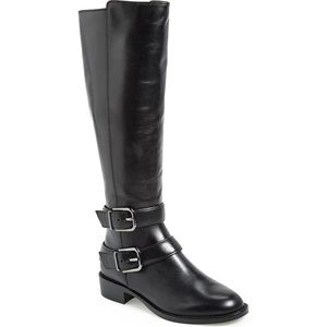Via Spiga Bernadette Leather Riding Boots